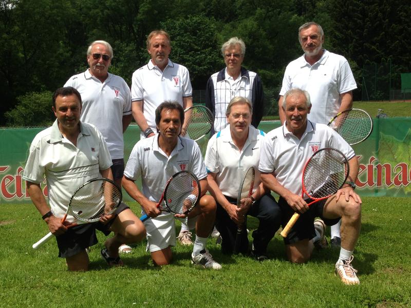 Herren 60 Tennis Tennishalle Tennissport Und